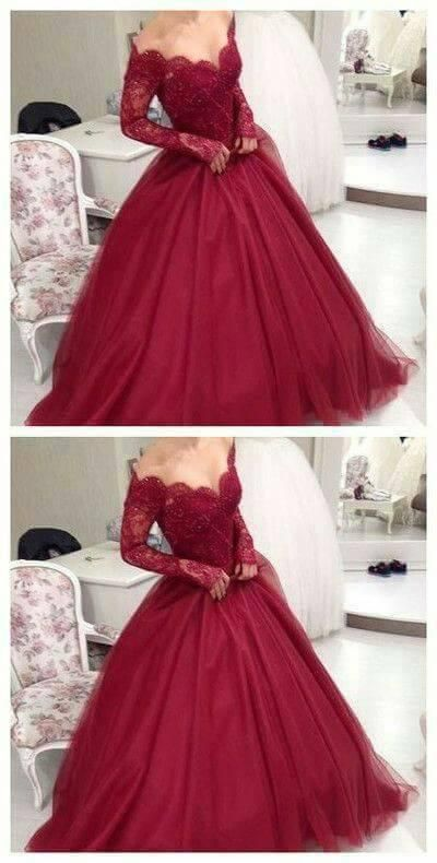 828beaa7e Vestidos de gala y fiesta en color vino tinto | Bodas | Dresses ...