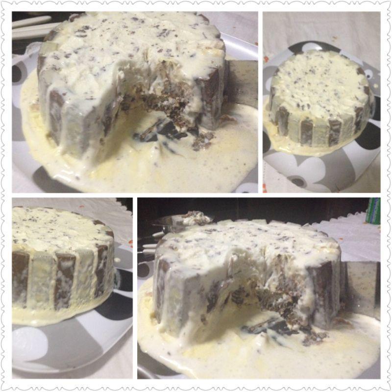 Torta de sorvete (Flocos) 2014