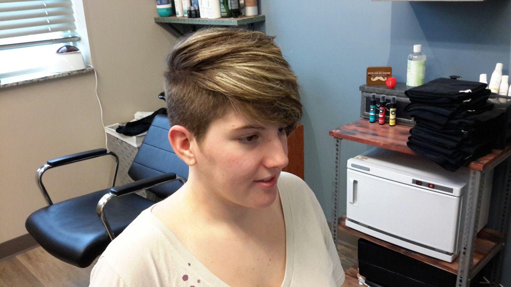 Womenus undercut shearperfection hair pinterest undercut