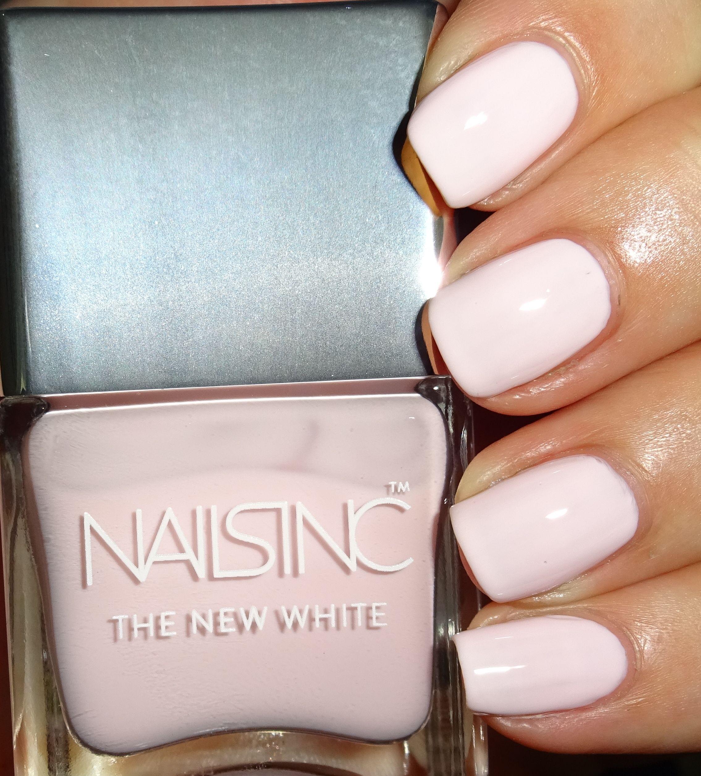 Nails Inc Lilly Road #nailsinc #babypink #palepink