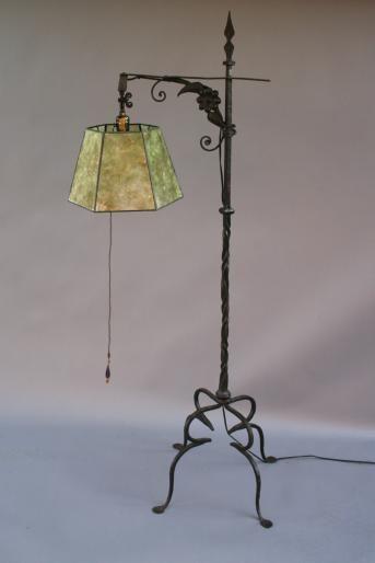 lamps of 1920   SOLD JM 3873. 1920\'s Floor Lamp w/Extendable Arm ...