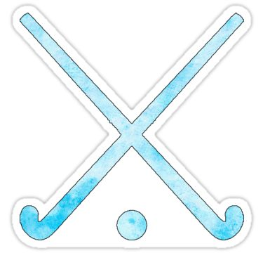 Field Hockey Light Blue Sticker By Hcohen2000 Field Hockey Field Hockey Stickers Field Hockey Sticks