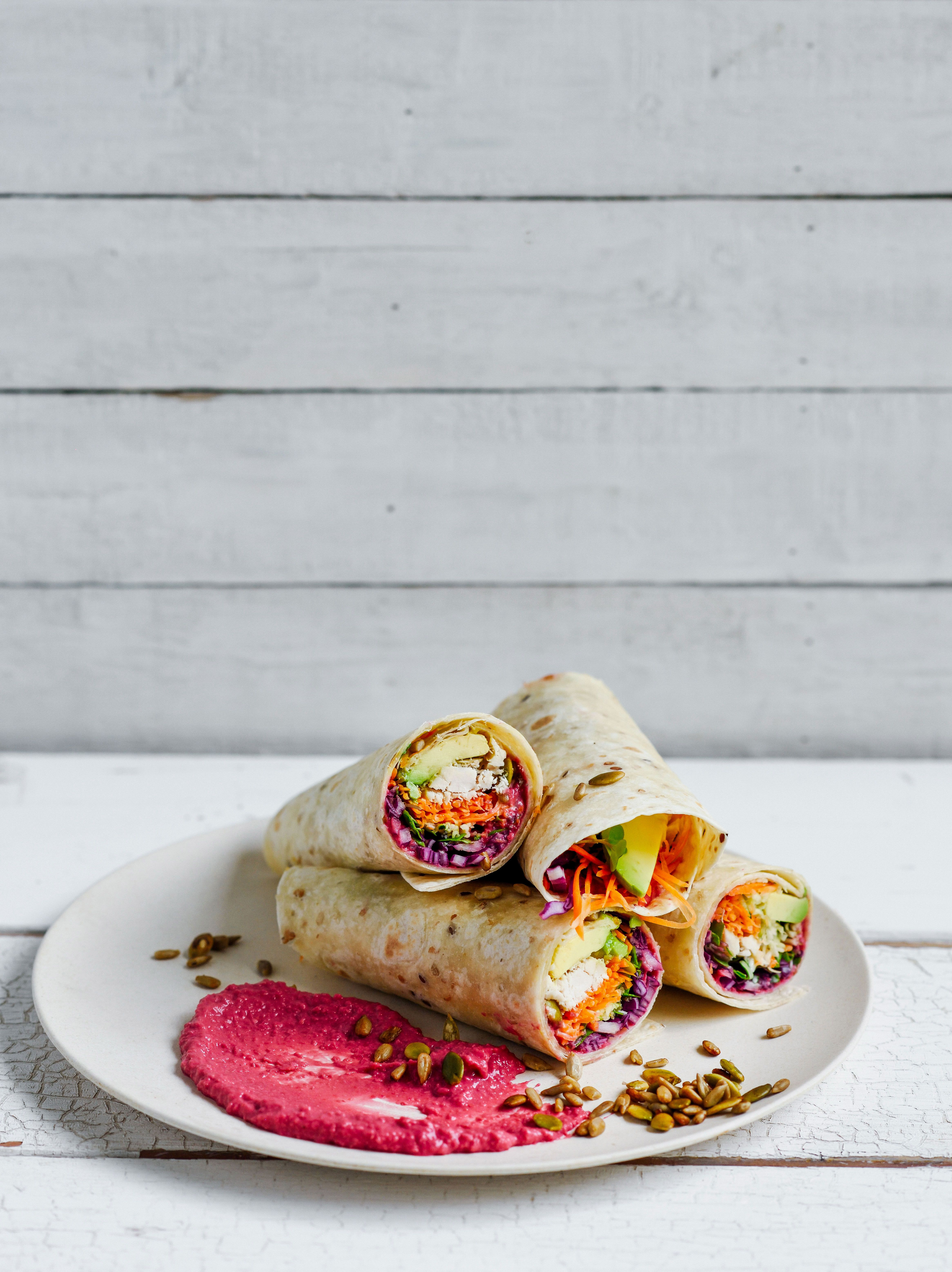 rainbow wraps – Stuck in the kitchen | Food photography | Pinterest ...