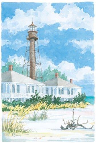 Sanibel Lighthouse Paul Brent Sanibel Lighthouse Lighthouse