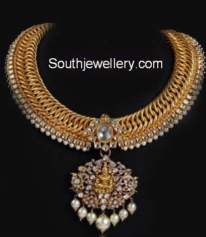 latest temple jewelry designs Antiques Pinterest Gold