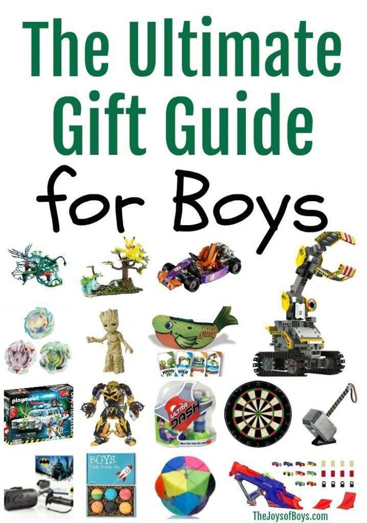 Ultimate Gift Guide for Boys - This gift guide makes shopping for the boys in your life a breeze. There are SO many fun and unique items to choose from! #gifts #giftideas #giftsforboys #christmasgiftideas #giftguides #christmasgiftguides #boygiftguide #thejoysofboys