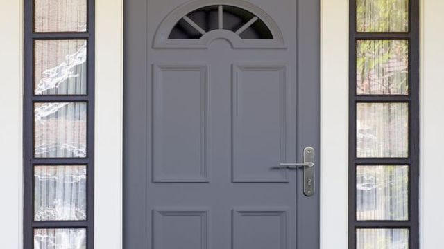 repeindre une porte d 39 entr e pvc deco pinterest. Black Bedroom Furniture Sets. Home Design Ideas