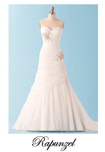 Alfred Angelo\'s Newest Disney Inspired Wedding Gowns. So gorgeous ...