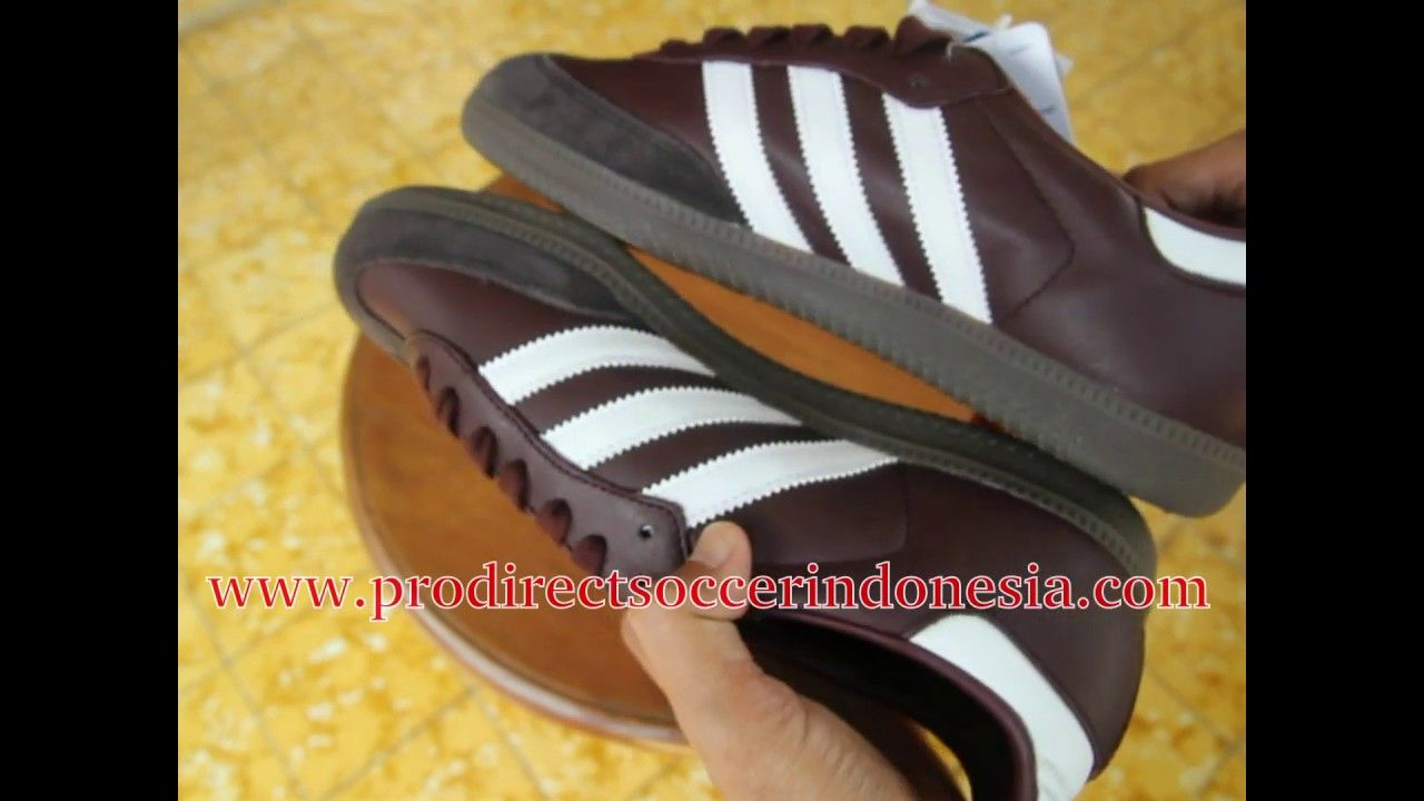 Sepatu Sneakers Adidas Samba Og Mystery Brown Core Black Cq2153