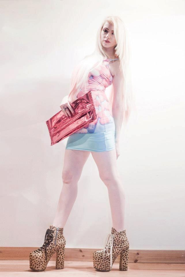 Sinead wears the Antivirus Dress by Natalie Cherry B for