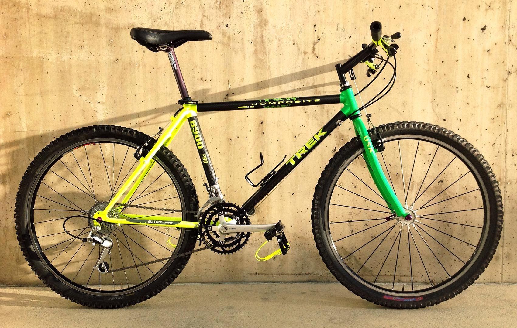 1990 Trek 8900 Vintage Mountain Bike Trek Mountain Bike Bmx Bicycle