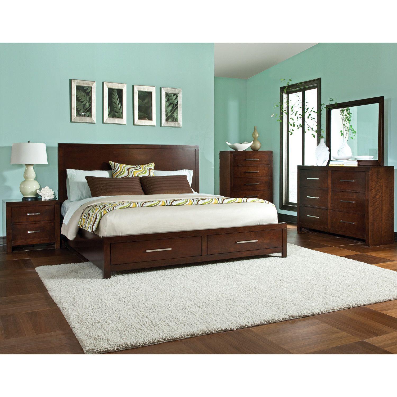 Standard Furniture Metro Platform Customizable Bedroom Set