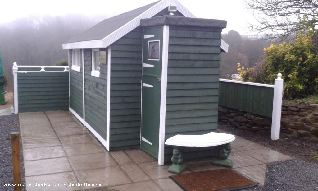 Panthywel farm home office made from a shed. Did you know ...
