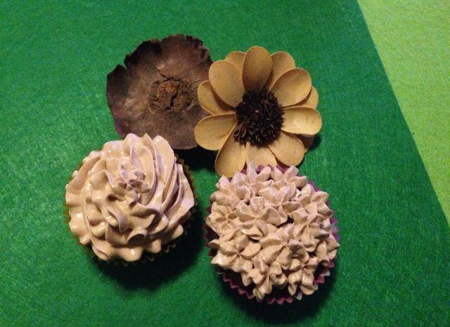 Cupcakes de avellana