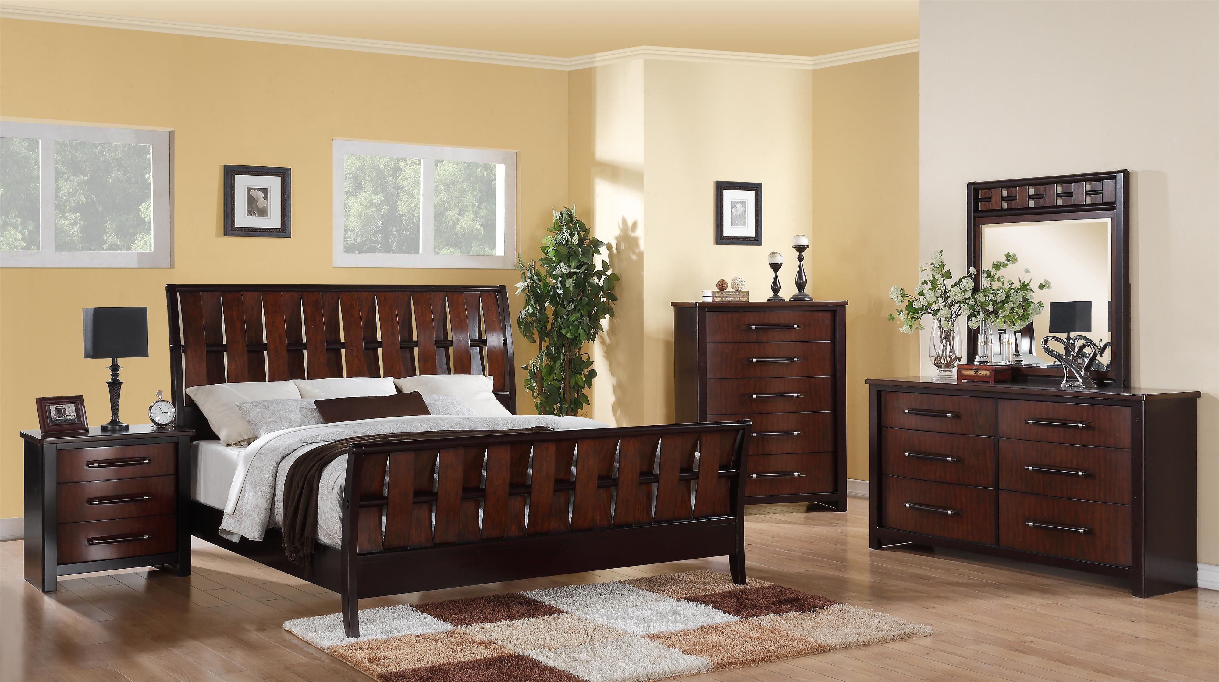 This Cavalier bedroom group by Austin Group is a masculine ...