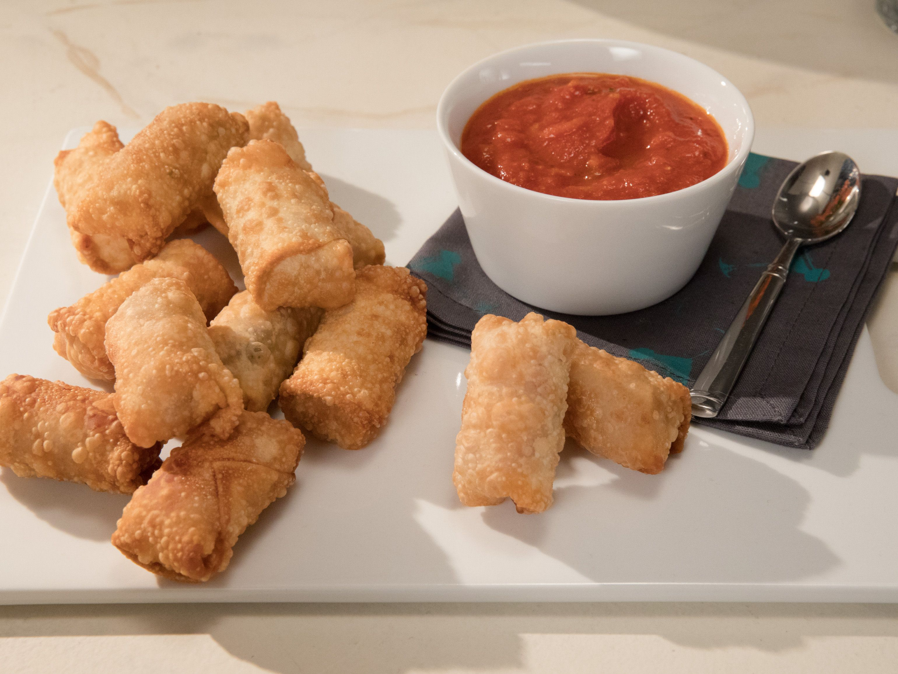crispy salami and cheese egg rolls recipe food network recipes egg rolls egg roll recipes crispy salami and cheese egg rolls
