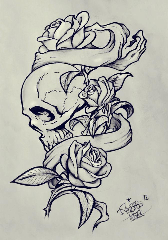 Kartinki Po Zaprosu Coloring Pages Designs Flowers Sleeve Tattoos Rose Tattoo Design Tattoos