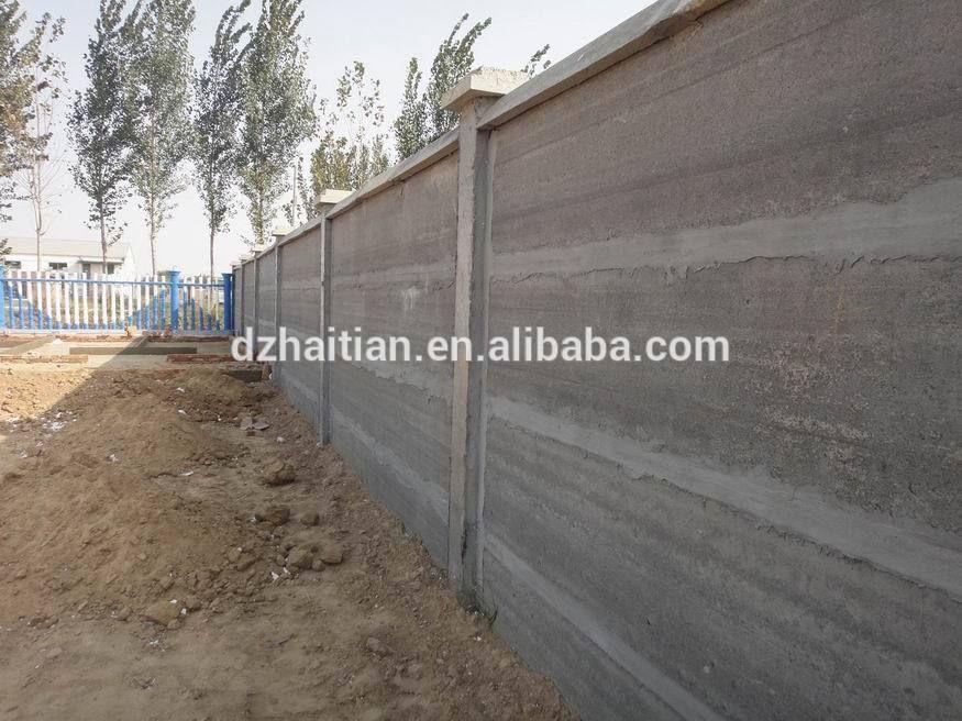Boundary Wall Planks Precast Concrete Wall Making Machine Buy Precast Concrete Wall Making Machine Precast Compound Wall Machin Palissade Mur Vegetal Vegetal