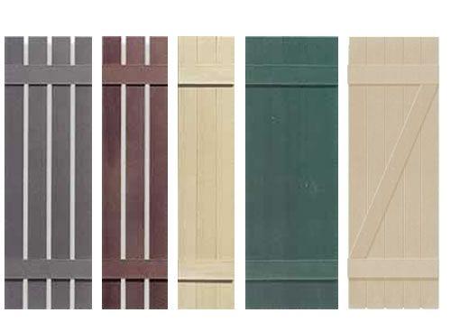 wood shutter designs | cheap discounted exterior window shutters ...