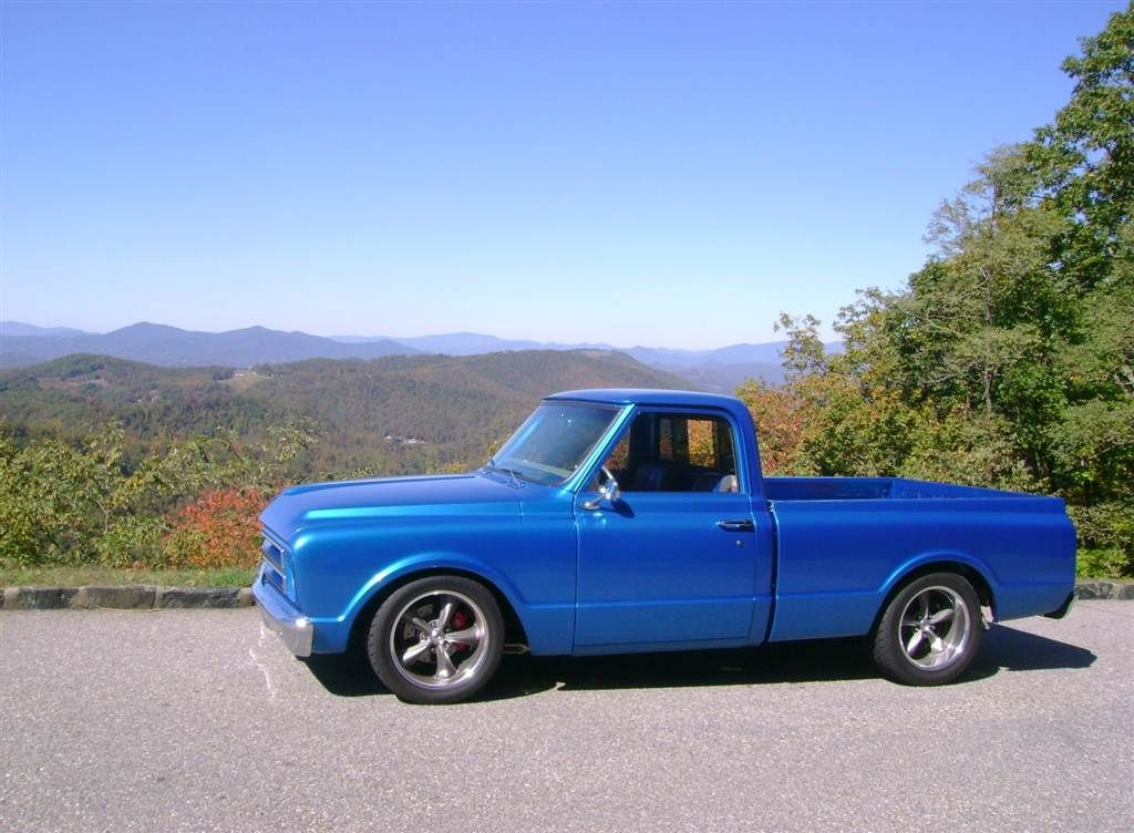 Pro touring trucks! Let's see them!!! Page 4 Classic