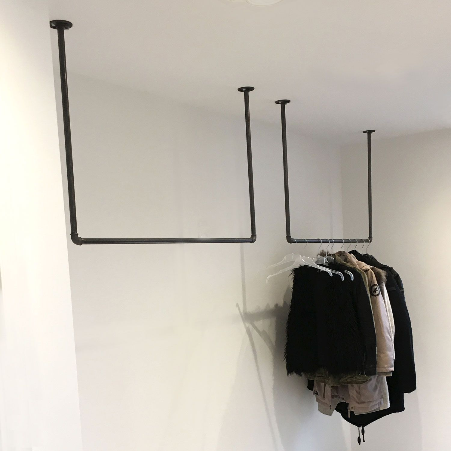 Kleiderstange Design kleiderstange swing // clothes rail swing #clothesrack #steelhomes