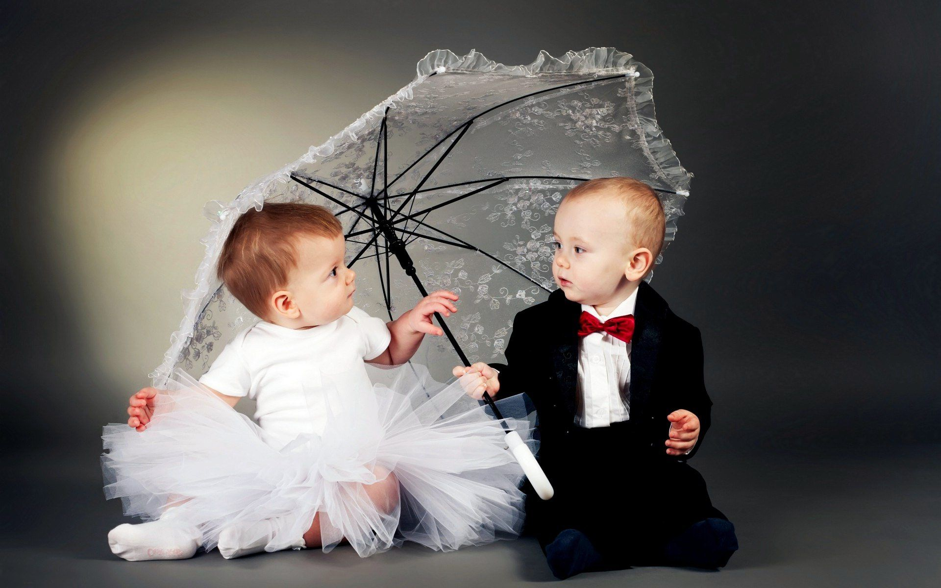 Cute Baby Couple Images With Quotes 3