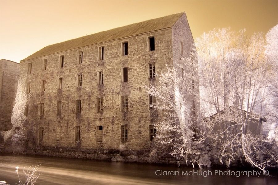 Collooney Corn Mills, Ireland, abandoned