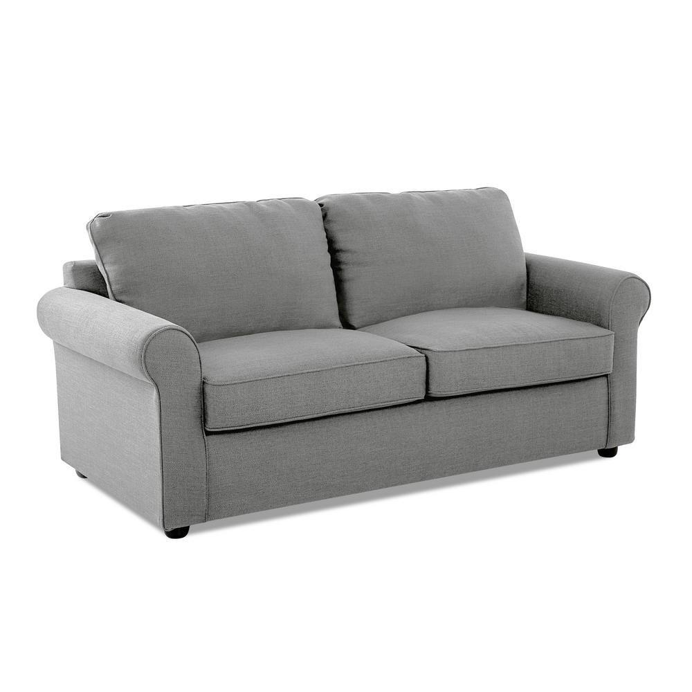Avenue 405 Andrea Full Size Sleeper Sofa In Concrete
