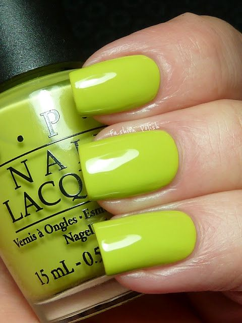 OPI Did It On \'Em from the Nicki Minaj Collection | Nail Colours ...