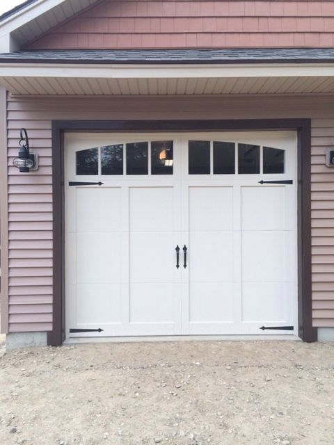 Nice Garage Door And Roof Over Garage Charlie Road House