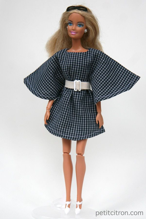 Nouveau Patron Pour Barbie La Robe Ange Et La Ceinture