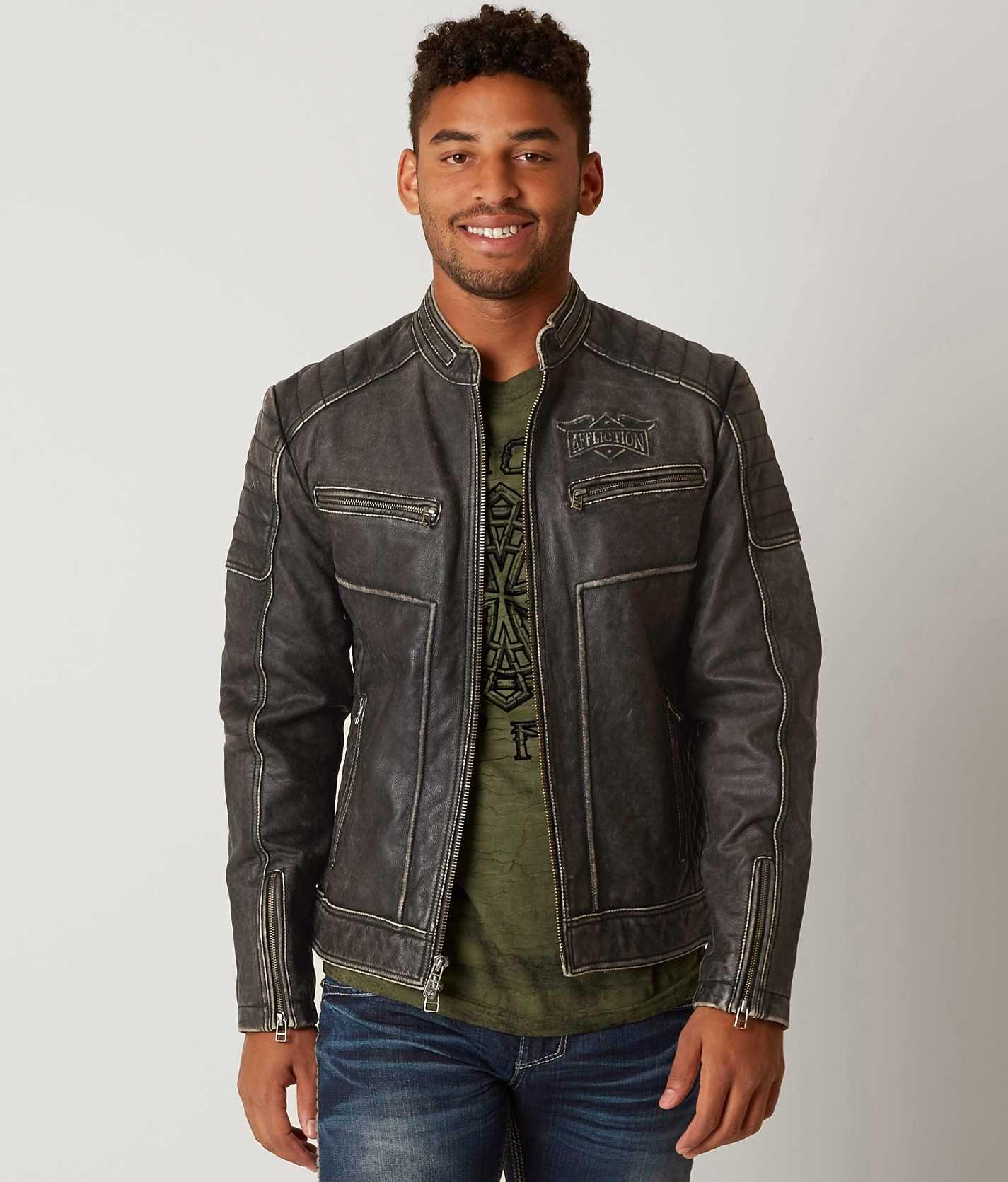 Affliction Limited Edition Vintage Jacket Men's Coats