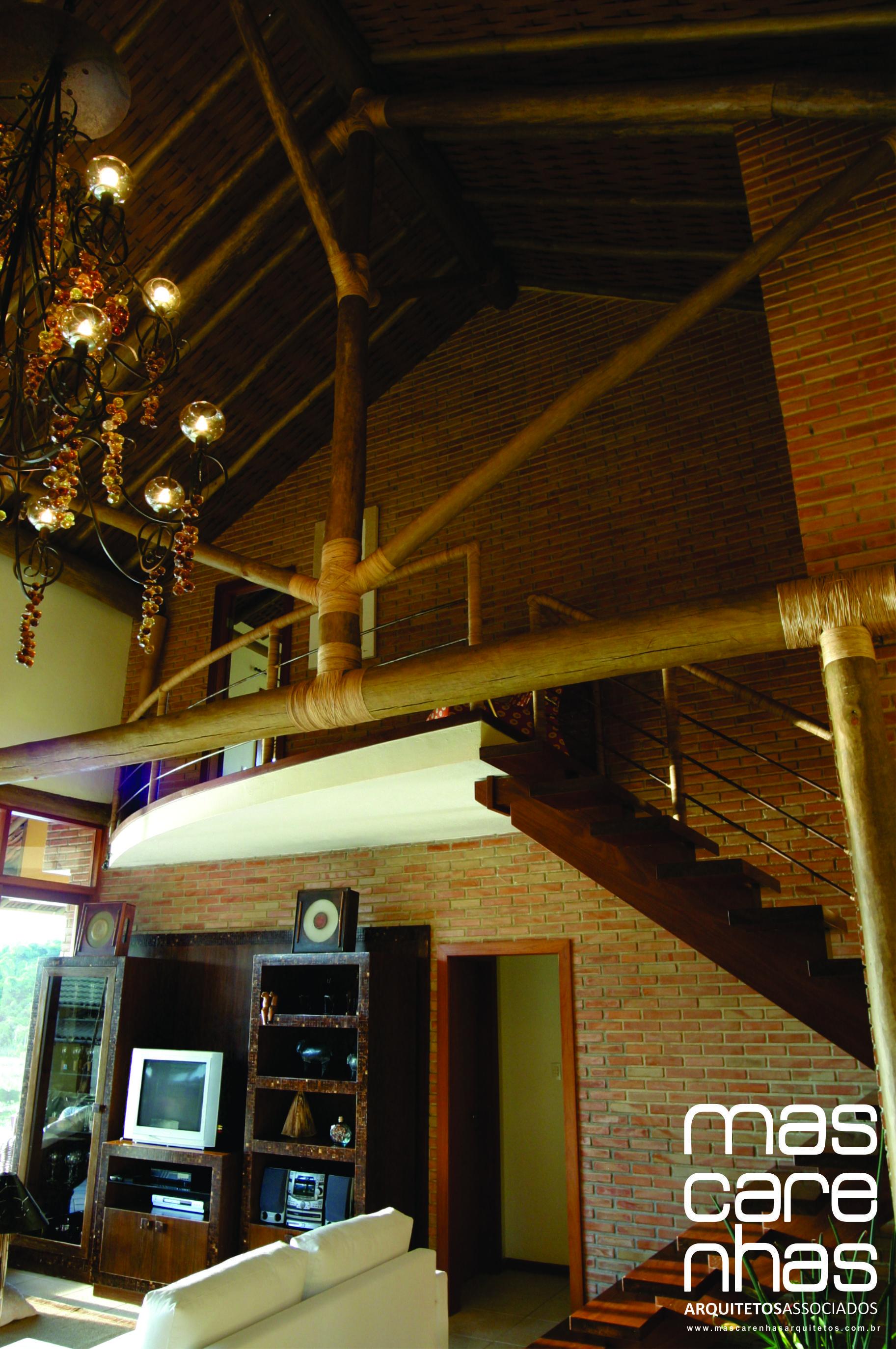 Residência LL - Juiz de Fora, Minas Gerais / Mascarenhas Arquitetos Associados Residência LL - Juiz de Fora, Minas Gerais / Mascarenhas Arquitetos Associados #arquitetura #architecture #madeira #wood #tijolo #brick