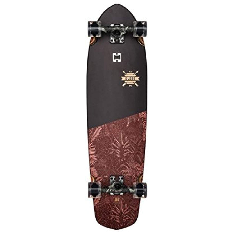 Black//Red Forester 36 GLOBE Skateboards Blazer XL Longboard Complete Skateboard