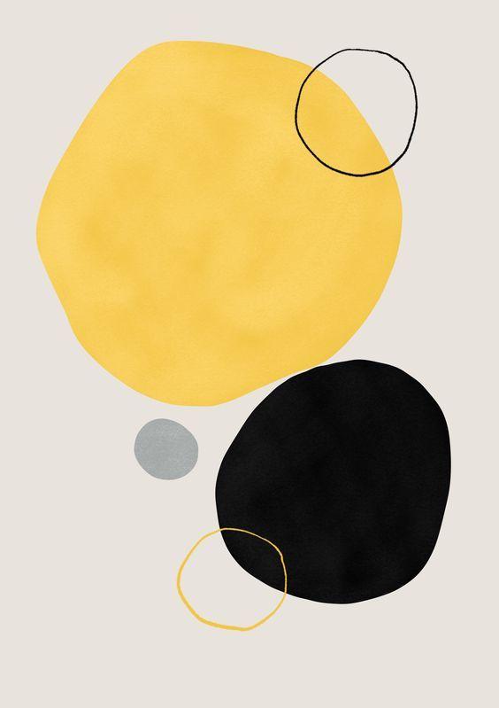 Abstract Drawing Print