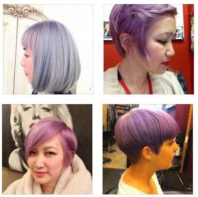 Short Lavender Cut and Color | Hair styles I love | Pinterest | Hair ...