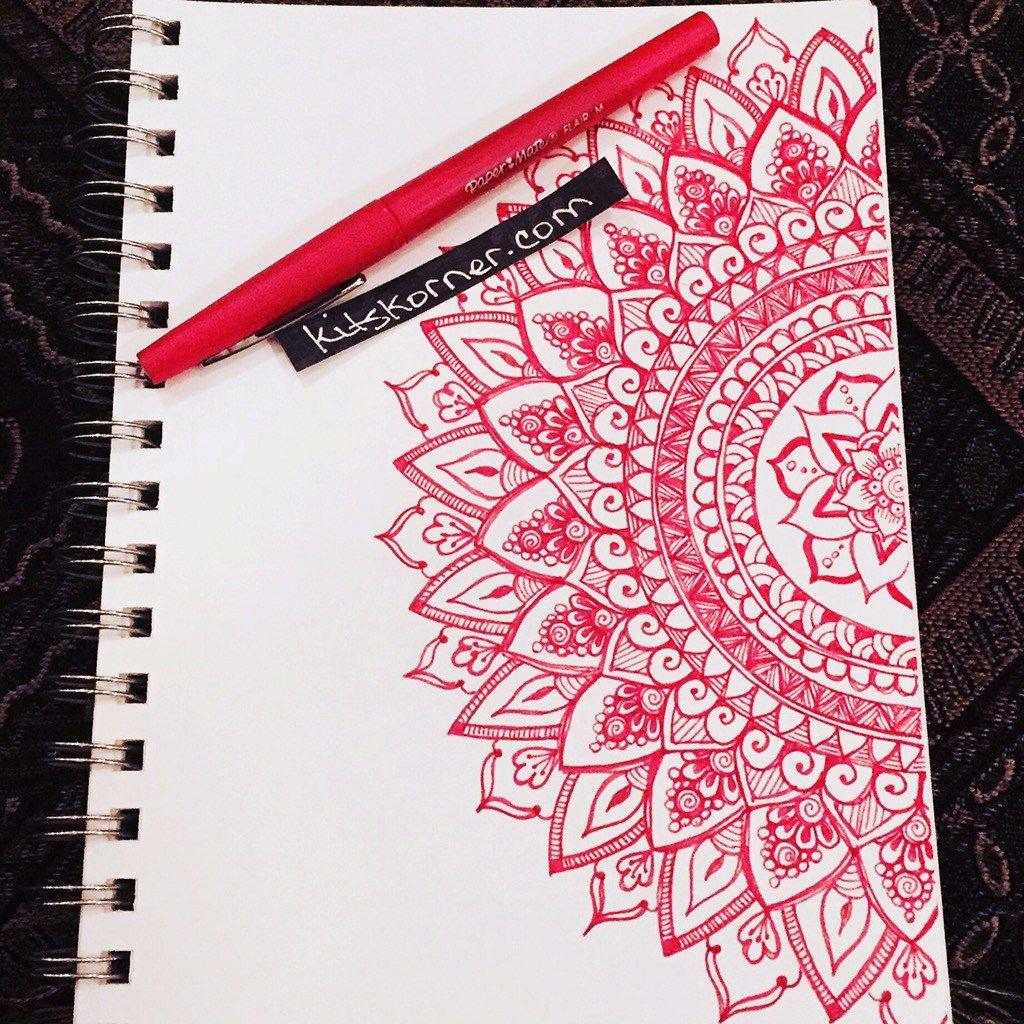 Sketchbook Mandalas 113 144 Sketch Book Mandala Design Art Doodle Art