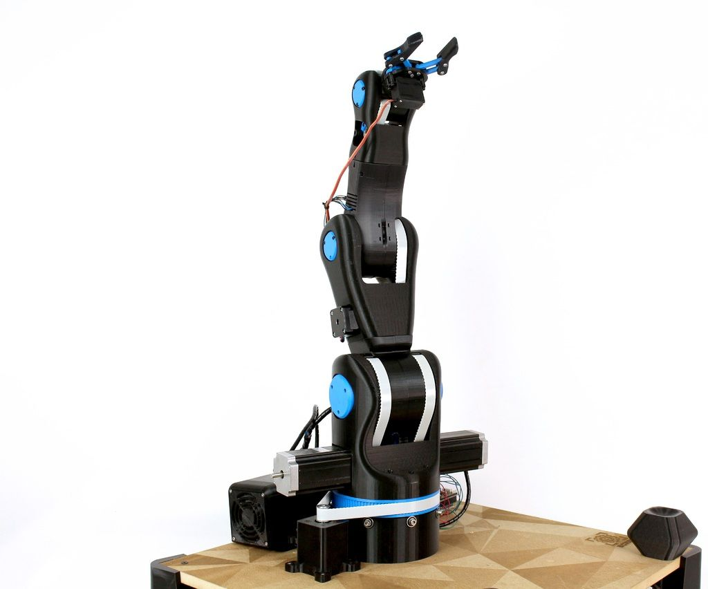 Bcn3d moveo a fully opensource 3d printed robot arm by