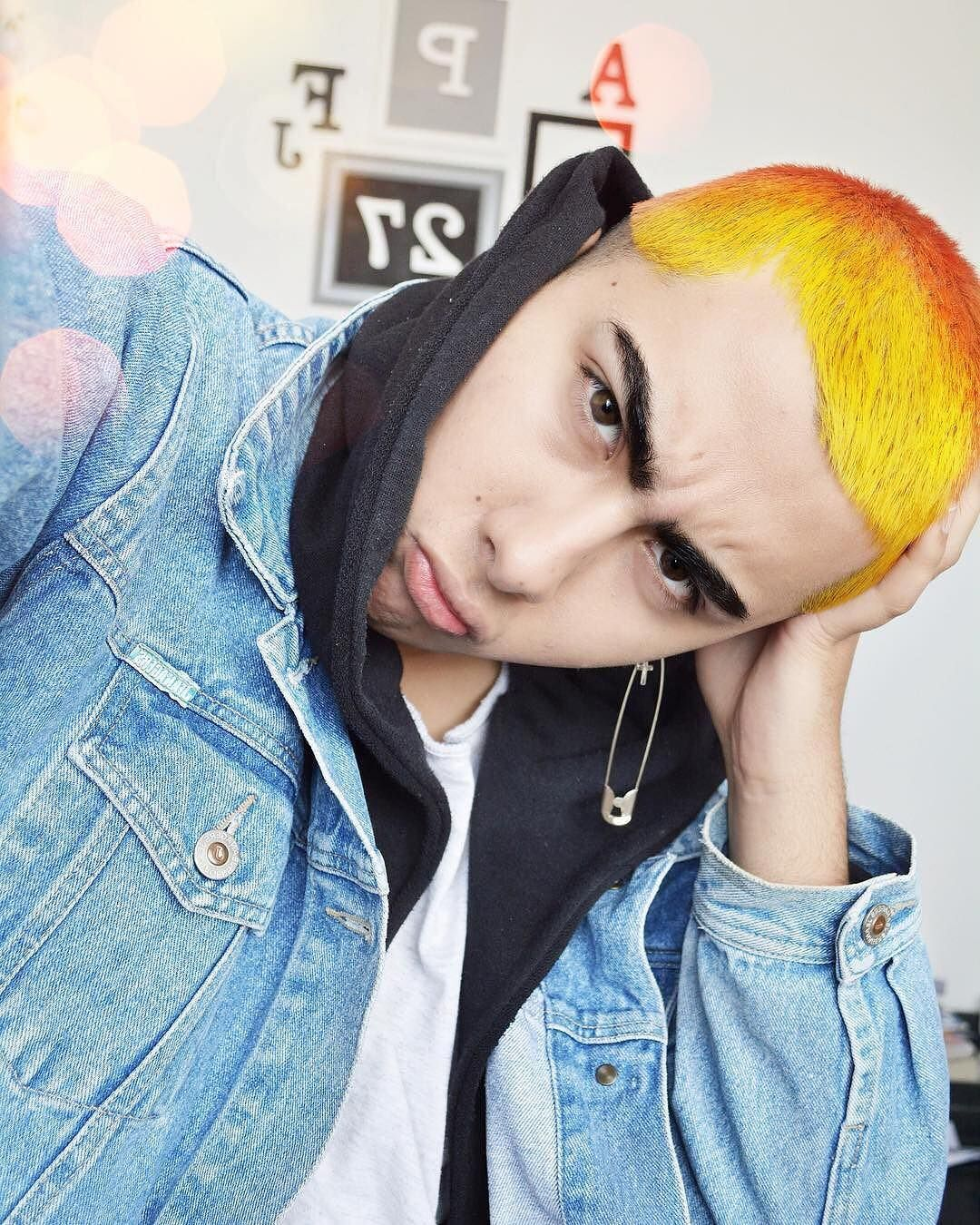 Pin by angel martinez on mens colored hair pinterest free