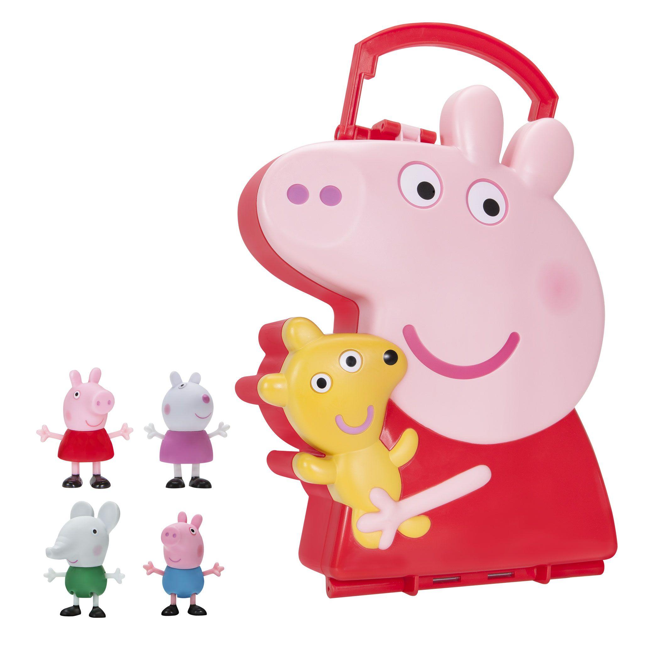 Peppa Pig Storage 4 Friends Figure Carry Case Walmart Com Peppa Pig Toys Peppa Pig Birthday Party Decorations Peppa Pig [ 2072 x 2072 Pixel ]