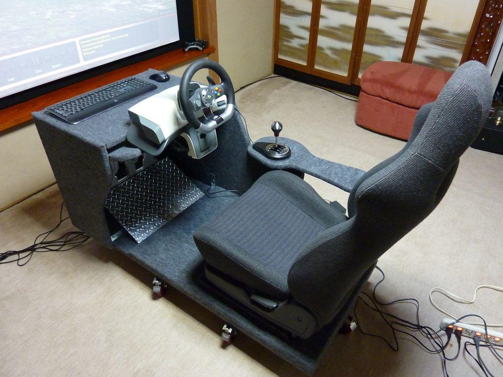 diy racing simulator seat
