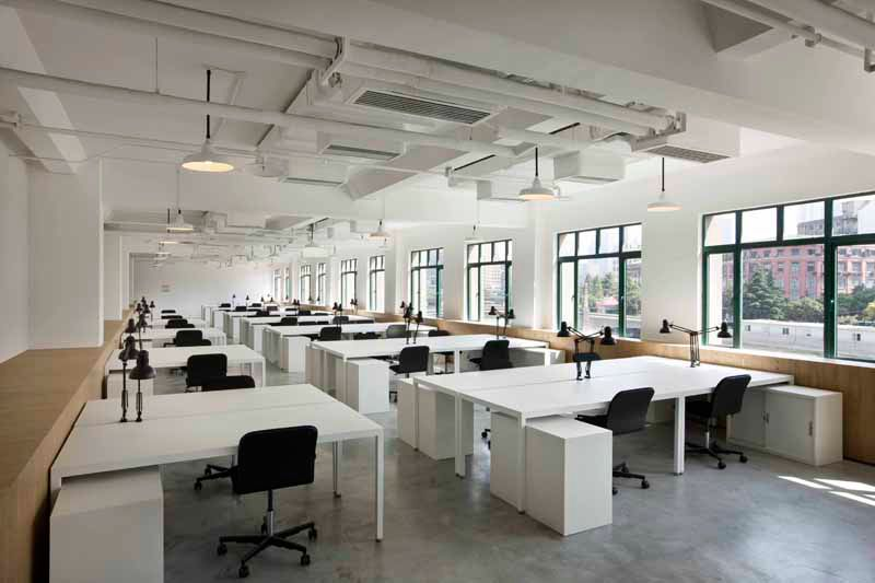 Designboom Interviews Neri Hu On Defining The Future Workspace Corporate Office Design Office Interior Design Architecture
