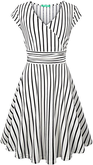 1515cda78ed Amazon.com  Striped Dresses for Women