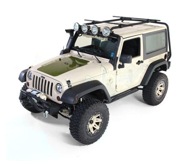 Roof Rack 07 13 Jeep 2 Door Wrangler Http Www Wrangler4x4 Com