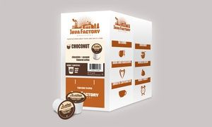 Groupon - 40-Pack Java Factory Choconut Single Serve Coffee in Online Deal. Groupon deal price: $18.99  NEED