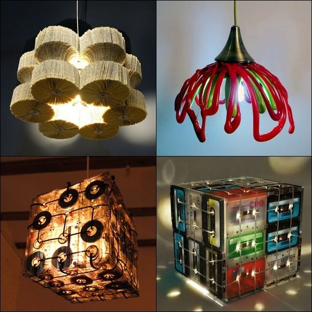 Having some eco friendly green d cors ideas at home for Recycled decoration