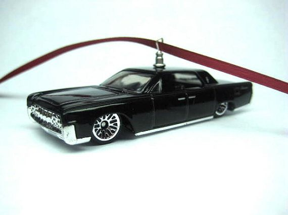 1964 Lincoln Continental Black On Black Luxury Car Christmas Tree