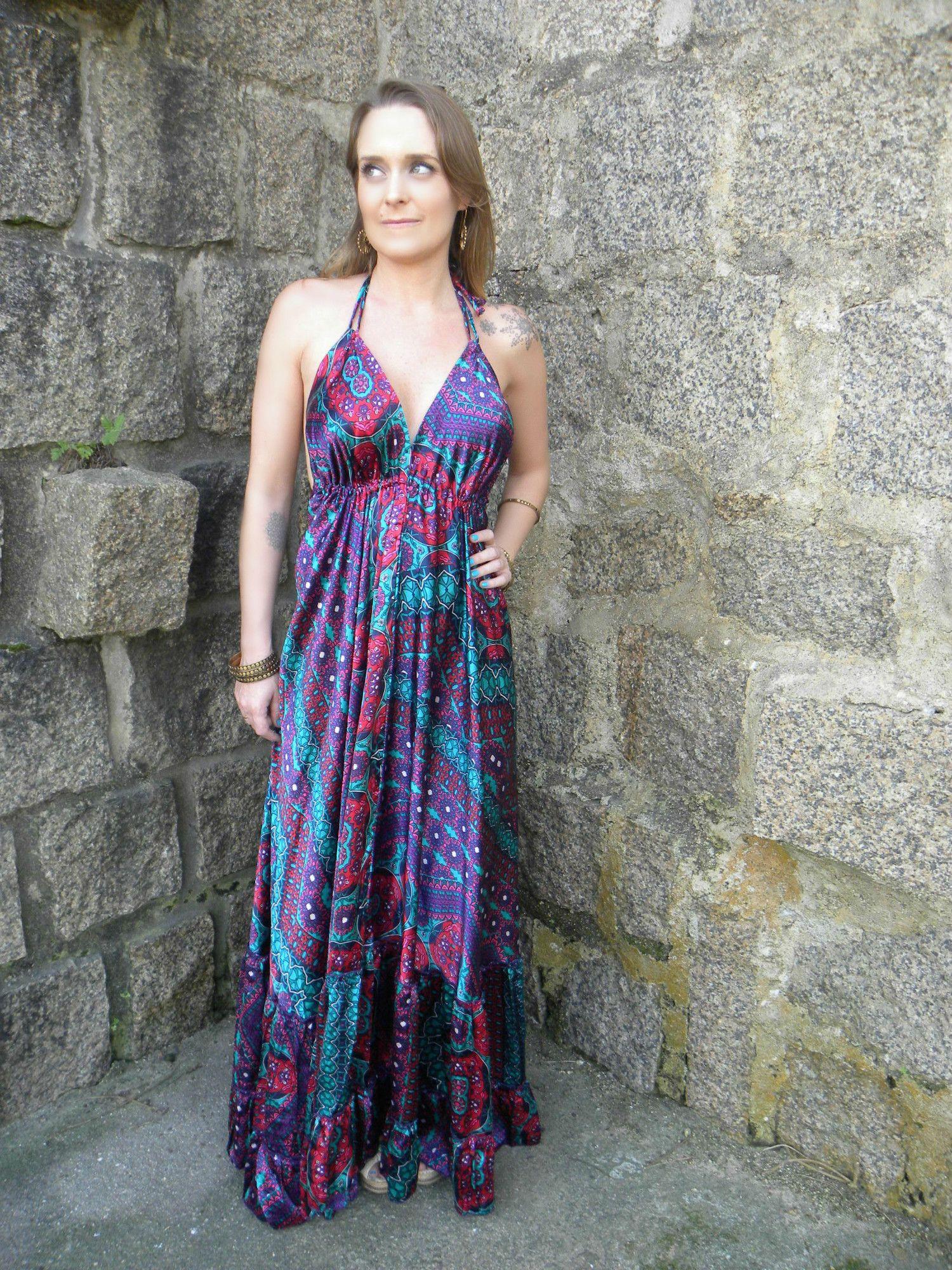 Vestido Deusa Longo 4