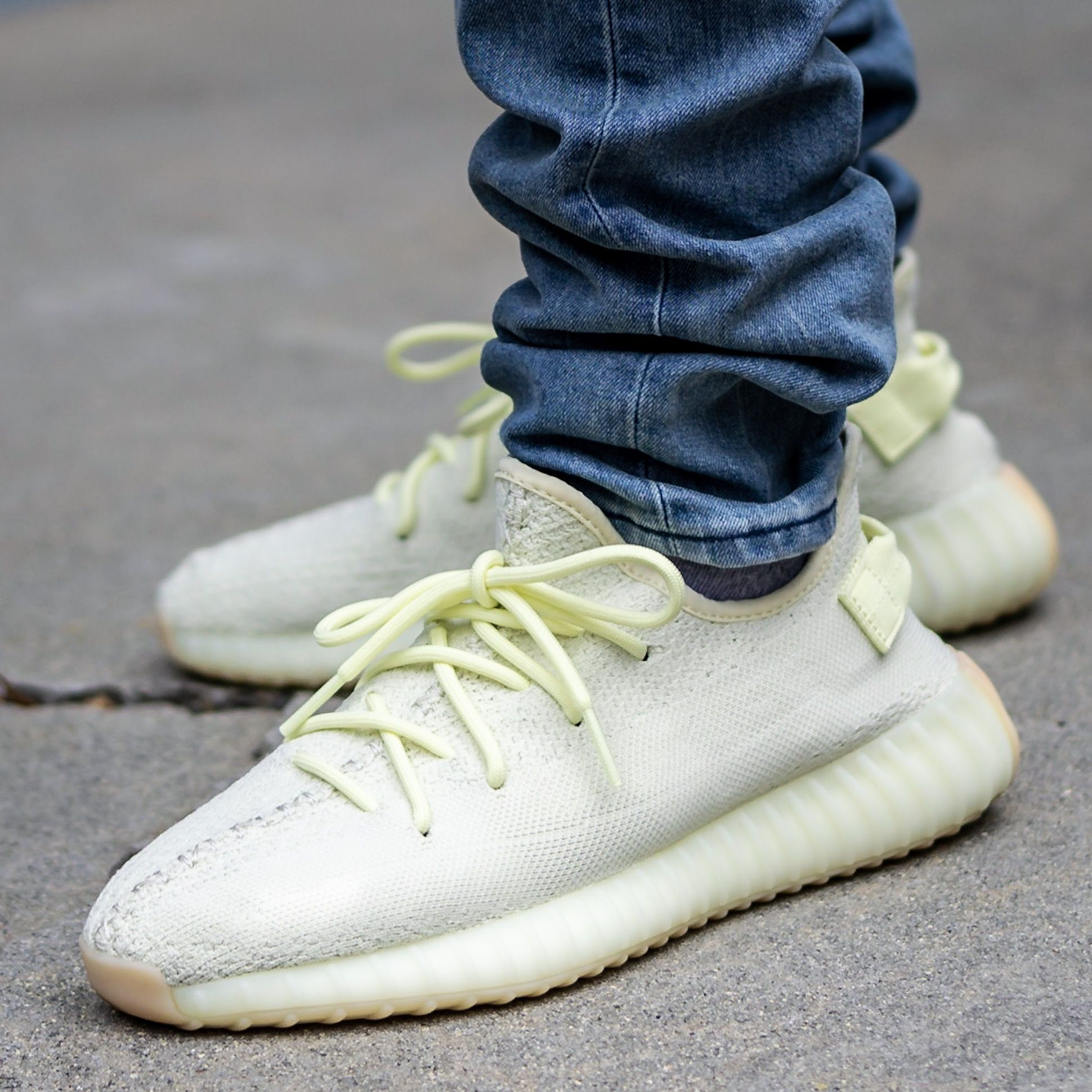 Adidas Yeezy Boost 350 V2 Butter On Feet Sneaker Review