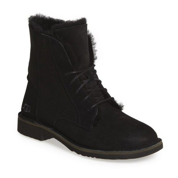 Women's Ugg Quincy Boot ($170) ❤ liked on Polyvore featuring shoes, boots,